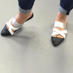 New Biasa Leather Sandals Sz 8